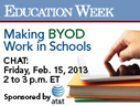 Education Week: Making BYOD Work in Schools | Mobile Learning in PK-16 & Beyond... | Scoop.it