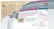 Le nouveau site des Archives de la Vendée est arrivé ! | Chroniques d'antan et d'ailleurs | Scoop.it
