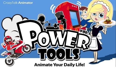 Combo - C: CrazyTalk Animator - POWER TOOLS Vol.5 | 2D or not 2D? The show must go on... | Scoop.it