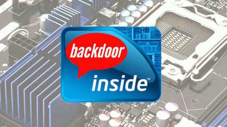 Intel x86 Processors Come With A Secret Backdoor That Nobody Can Fix | Nerd Vittles Daily Dump | Scoop.it