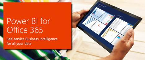 Microsoft Business Intelligence – Improving Business Insight across Organization…!!! | Microsoft Business Intelligence | Scoop.it