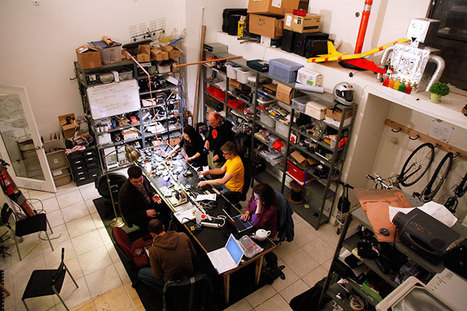 DIY Freaks Flock to 'Hacker Spaces' Worldwide | Makerspaces | Scoop.it
