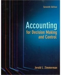 Test Bank For » Test Bank for Accounting for Decision Making and Control, 7th Edition: Jerold Zimmerman Download | Business Exam Test Banks | Scoop.it