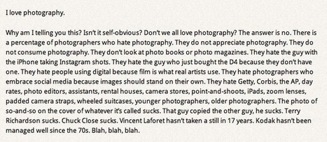 """""""I love photography""""   Photography Now   Scoop.it"""