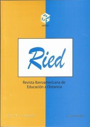 Nuevo número de RIED. Volumen 17, 1 (2014) (14,4) | Contextos universitarios mediados