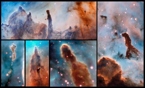 The pillars of destruction of the Carina Nebula | Astronomy | Scoop.it