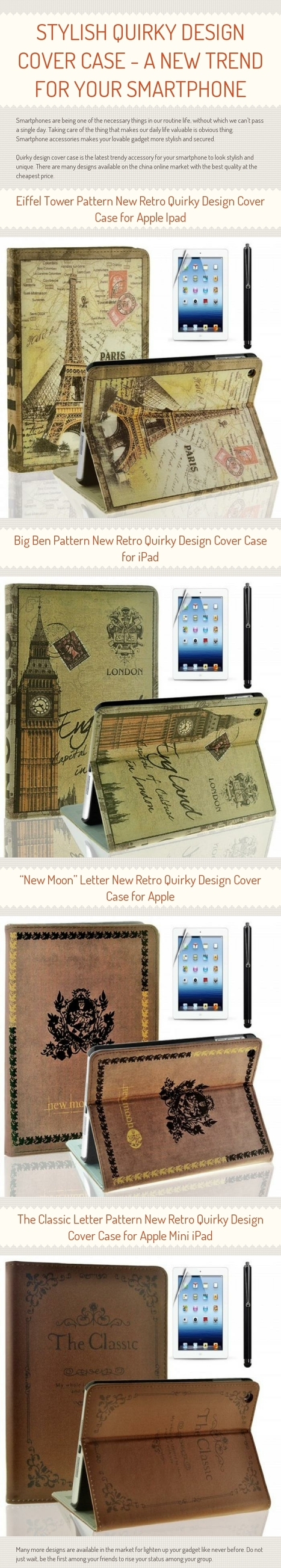 Stylish Quirky Design Cover Case - A New Trend For Your Smartphone | China Wholesale Suppliers | Scoop.it