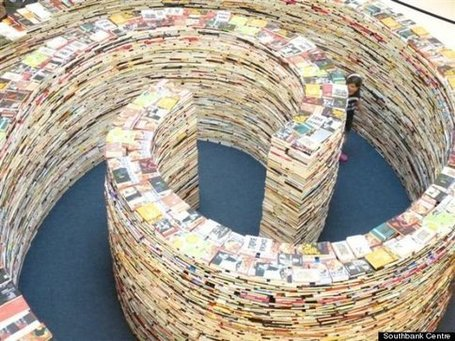 Literary Maze on Display at London 2012 Festival | What Moves Us @ Curry Library | Scoop.it