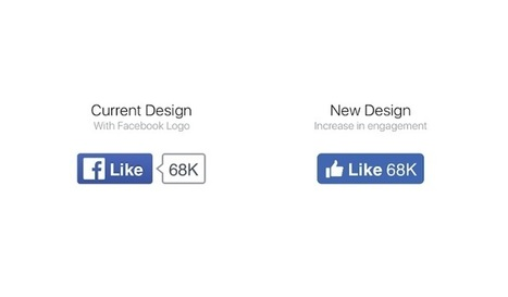 Le bouton like de Facebook vient de changer de look | Social Media Curation par Mon Habitat Web | Scoop.it