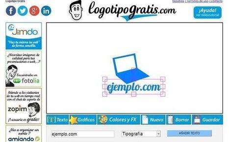 LogotipoGratis, utilidad web gratuita para crear sencillos logotipos   Acerca del e-Learning   Scoop.it