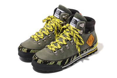 Stussy x Undefeated x The North Face Tiger Camo Back to Berkeley Hiking Boots | OUR Style | Scoop.it
