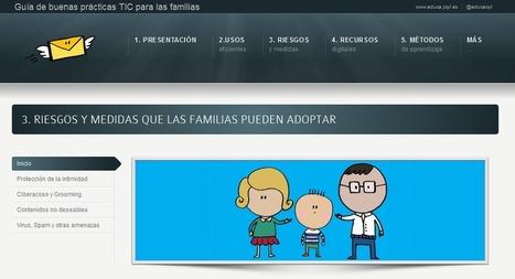 Guía de buenas prácticas TIC para las familias | Cosas que interesan...a cualquier edad. | Scoop.it