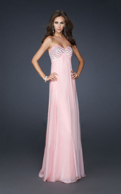 La Femme 17442 Pink Heart Shaped Strapless Flowing Long Dresses For Prom [La Femme 17442 Pink] - $175.00 : La Femme Outlet, 60% Off La Femme Sale Online | prom dress | Scoop.it