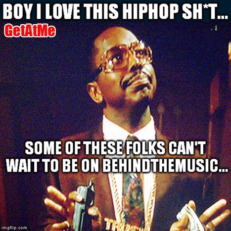 GetAtMe #TrustUsKnows Some of theses folks can't wait to be on BehindTheMusic... #ItsAboutTheMusic   GetAtMe   Scoop.it