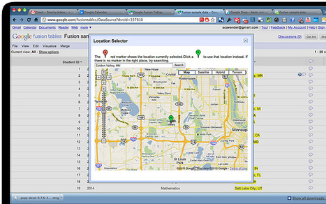 How to Create a Google Map With Excel Data and Fusion Tables | #Fusion Tables | Scoop.it