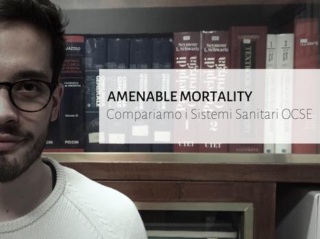 Amenable Mortality - Compariamo i Sistemi Sanitari OCSE | Appunti | Scoop.it