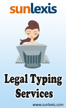 Avail Professional Legal Typing Services To Save Time and Efforts | Legal process outsourcing | Scoop.it