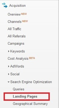 Landing Page Optimization Using Google Analytics | Inbound marketing | Scoop.it