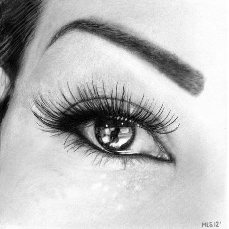 Dibujo Lapiz Ojo de Ojos Hechos a Lápiz