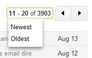 Gmail's Newest/Oldest Pagination Features | Google Sphere | Scoop.it