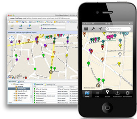 Create and Edit all Your Maps with Click2Map for iPhone and iPad | Click2Map Blog | Geolocated | Scoop.it