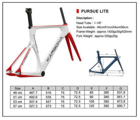 Karbona Pursue Lite carbon fiber track bike frame set Karbona Pursue Lite carbon fiber track bike frame set [PURSUE LITE] - £676.00 : Karbona Bikes, Performance carbon fiber bikes | Carbon fiber bikes | Scoop.it