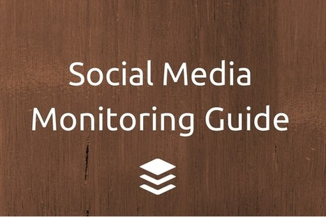 Expert Social Media Monitoring in 4 Simple Steps | Online Marketing | Scoop.it