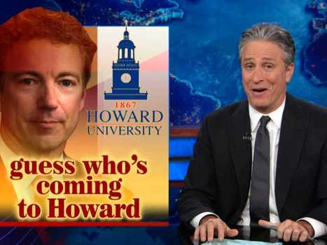 Jon Stewart Eviscerates Rand Paul's Speech To African-American Students | Gov and law Henry Hartzler | Scoop.it
