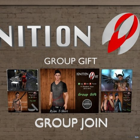 Five Group Gifts for Men by Ignition Art | Teleport Hub - Second Life Freebies | Second Life Freebies | Scoop.it