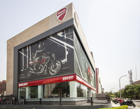 Ducati officially marks its arrival in India with a press conference at the largest Ducati Store in the world | Motorcycle Industry News | Scoop.it