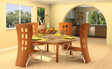 The Unique Dining Room Chairs | Home Interior Design | Scoop.it