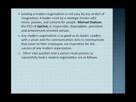 Michael Dadoun, Good Leaders Possess high level of Integrity | Michael Dadoun | Scoop.it
