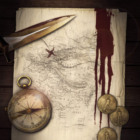 Create an Authentic Looking Pirate Treasure Map | PSDFan | art | Scoop.it