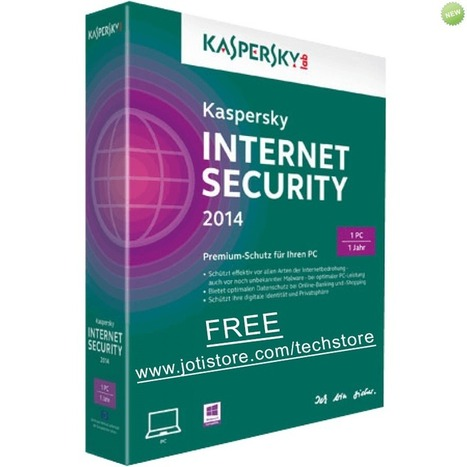 Free activation Kaspersky Internet Security 2014 for 1 year | TECHNOLOGY | Scoop.it