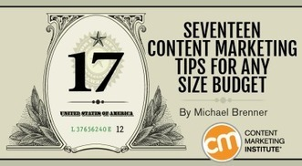 17 Content Marketing Tips for Any Size Budget | Inbound marketing, social and SEO | Scoop.it