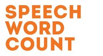 (TOOL) - Speech Word Count: the tool which converts your text into reading time | speechwordcount.com | Translation Tools | Scoop.it