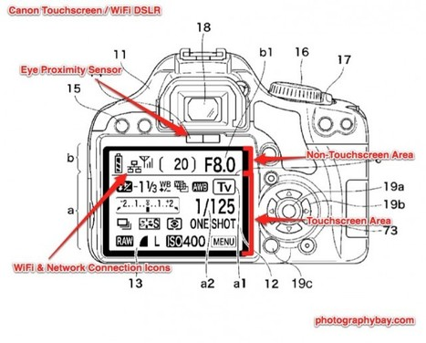 "Patent – Touchscreen & Wifi Rebel? | ""Cameras, Camcorders, Pictures, HDR, Gadgets, Films, Movies, Landscapes"" 