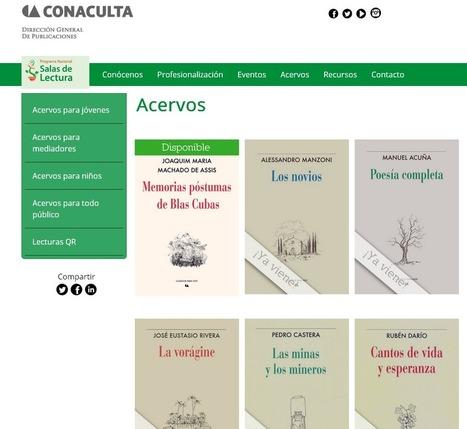 Cientos de libros #online y #gratis en las #Salasdelectura de #México | Pedalogica: educación y TIC | Scoop.it