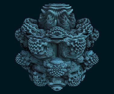3D Mandelbulb Fractal Ray Tracer • subblue | Machinimania | Scoop.it