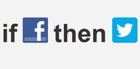 20 recettes incroyables pour se simplifier la vie grâce à IFTTT | Medias sociaux - veille | Scoop.it