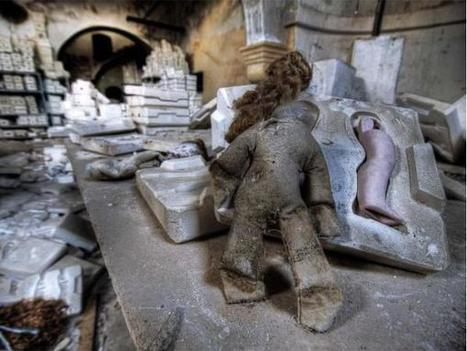 Exploring the Remains of Spain's Creepy Abandoned Doll Factory | Oh, you pretty things! | Scoop.it