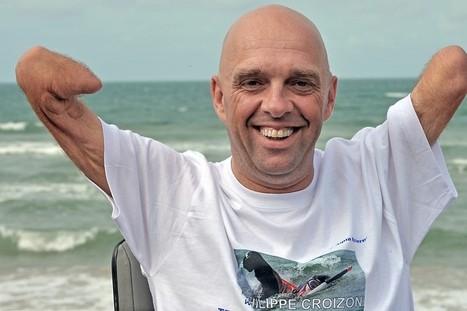 Grand Raid : le quadri-amputé Philippe Croizon termine 96 km en ... - RTL.fr   agence événementielle   Scoop.it