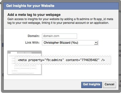 Facebook Insights for Your Domain | Facebook for Business Marketing | Scoop.it