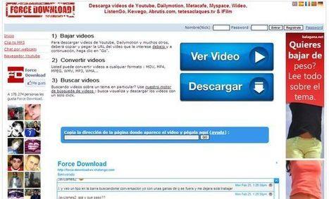 Force Download, utilidad web para descargar vídeos de YouTube y servicios similares | Recull diari | Scoop.it