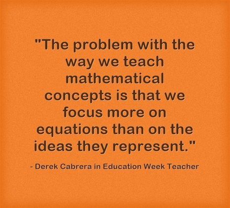 Response: Differentiating Algebra Instruction | Educational trends & resources | Scoop.it