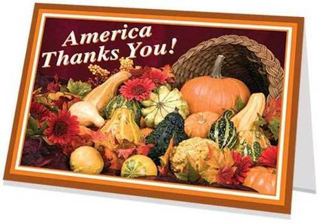 'Please Lift The Spirits of a WOUNDED WARRIOR by Signing a Thanksgiving Card' HAPPY HOLIDAYs' - #Thanksgiving Thank You - | www.saluteahero.org | News You Can Use - NO PINKSLIME | Scoop.it