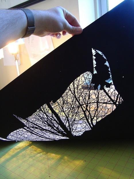 Striking Black and White Hand-Cut Paper Designs - My Modern Metropolis | Le It e Amo ✪ | Scoop.it