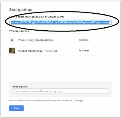 Everything You Need to Know about Sharing in Google Docs | Instructional Technology | Scoop.it
