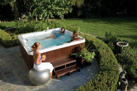 Show Stress a 'Stop' Sign with Hot Tubs - | Master Spa Parts | Scoop.it