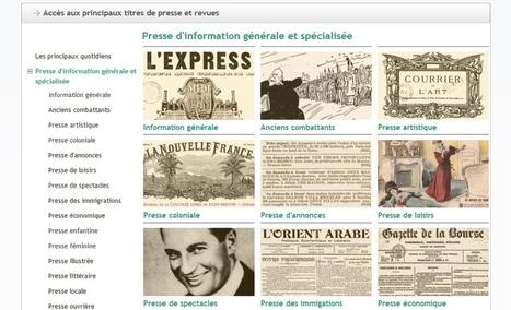 Découvrez la nouvelle page de présentation de la presse   Gallica   Auprès de nos Racines - Généalogie   Scoop.it